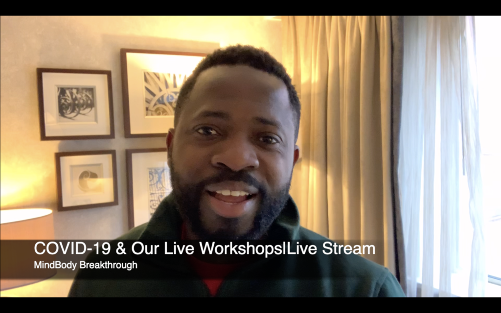 COVID-19 & Our Live Workshops Updates