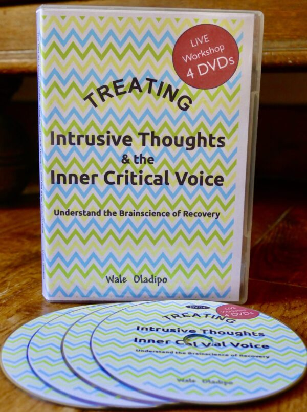 Live Workshop 4-DVD Set: Treating Intrusive Thoughts and Inner Critics: Using the OSLAC Recovery Framework (To Be Posted to Your Home Address)
